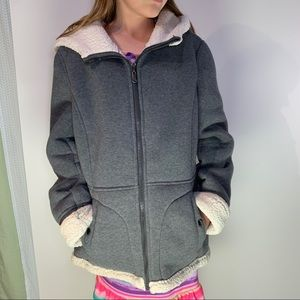 Weatherproof Women's Sherpa-lined Polyester Coat S